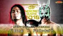 Eita (c) vs. Dragon Kid Open The Brave Gate Title Match Dragon Gate Dangerous Gate 2018