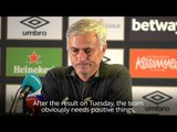 Jose Mourinho - 'We Lacked Positivity In Loss Against West Ham'