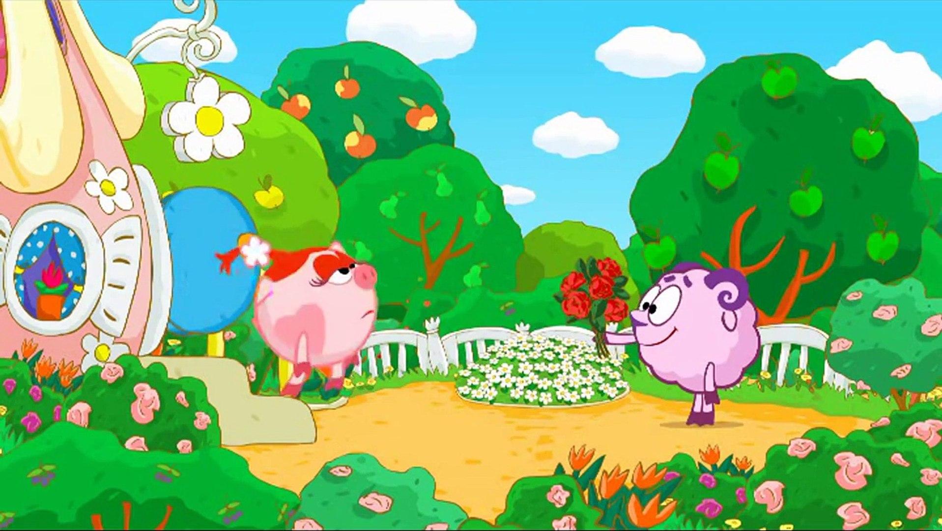 Смешарики 2D лучшее   Все серии подряд - старые серии 2008 г. 5 сезон (Мультики для детей) part 2/2
