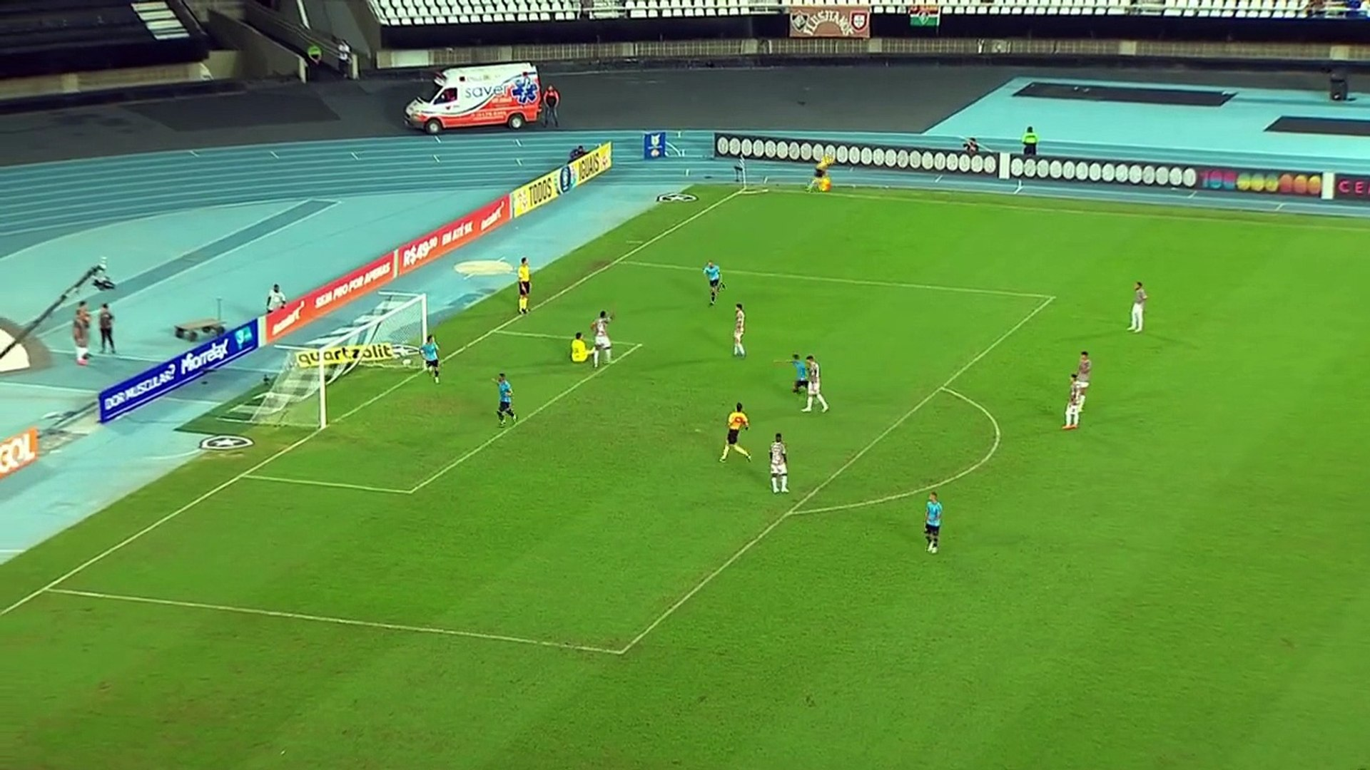 EVERTON do Grêmio marca GOLAÇO de calcanhar contra o Fluminense - Série A 2018