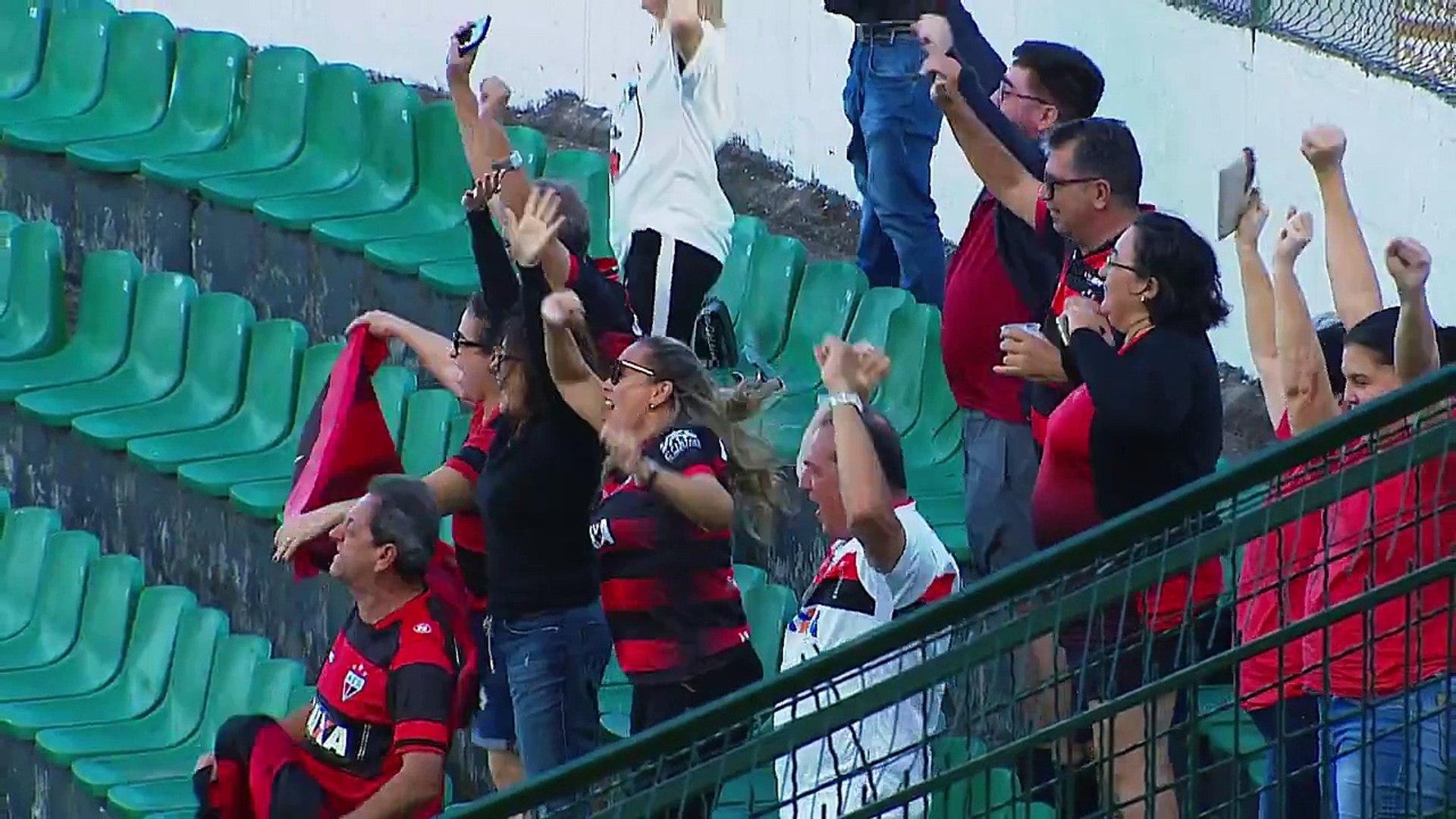 [GOL DE JULIO CÉSAR] Figueirense 2 x 2 Atlético-GO - Série B 2018