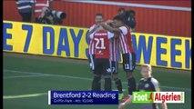 Brentford 2 - 2 Reading (Saïd Benrahma passeur puis expulsé)