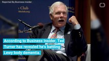 Billionaire Ted Turner Reveals He Has A Form Of Dementia