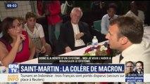 Saint-Martin: la colère de Macron