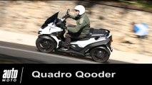 Quadro Qooder scooter à 4 roues Essai Auto-Moto.com