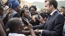 A Saint-Martin, Macron veut accélérer la reconstruction