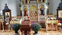 St. George's Church - Latvian orthodox church in Bauska, Latvia -  Georgija Uzvarētāja baznīca