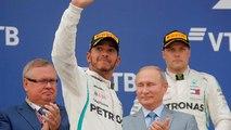 Lewis Hamilton vence Grande Prémio da Rússia