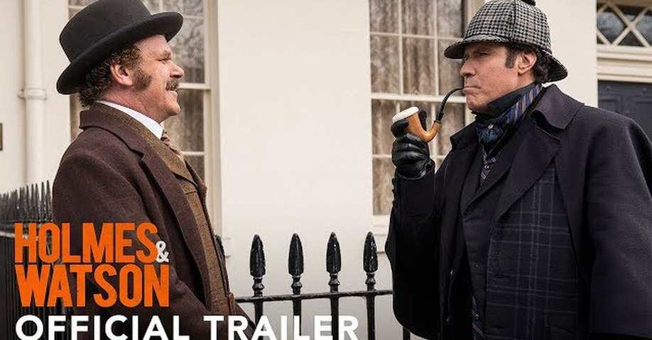 Holmes and Watson Trailer 12/21/2018