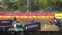 Tim Gajser & Jeffrey Herlings passes Alessandro Lupino - MXGP of Italy 2018