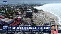 Voici les dernières images de l'Indonésie et des dégâts provoqués par le séisme et le tsunami