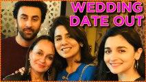 Alia Bhatt Ranbir Kapoor WEDDING DETAILS, Neetu Singh Soni Razdan DISCUSS WEDDING DATE