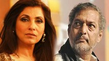 Tanushree Dutta Nana Patekar Controversy  Dimple Kapadia talks about Nana behaviour ,  FilmiBeat