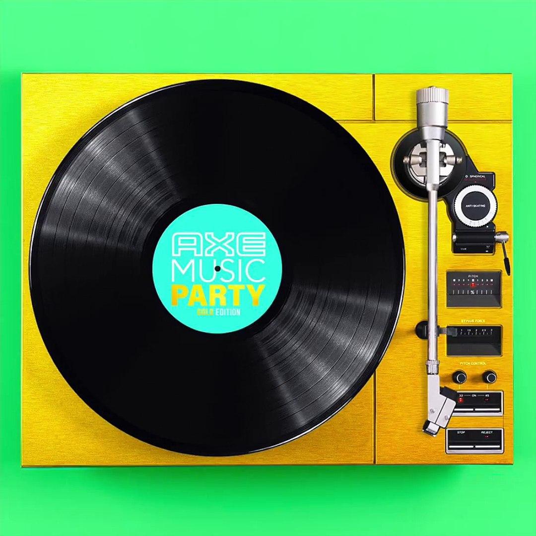 Plutôt pop, urban ou électro ? Aujourd'hui c'est toi qui décide pour la AXE MUSIC PARTY · Gold Editi