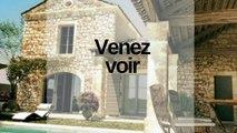 En vente à côté d' Uzès,  entre Alès Nîmes, Avignon  à Mas provençal ( villa)  4 chambres, une piscine, jardin, garage. Votre nouvelle maison sera une  habitation idéale pour habiter dans le département du Gard  en Occitanie,  dans une région de France