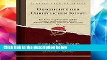 P.D.F Geschichte der Christlichen Kunst, Vol. 2: Die Kunst des Mittelalters und der Italienischen