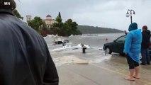 Il più potente uragano del Mediterraneo ha raggiunto la Puglia: pioggia di un mese in tre giorni
