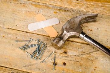 Bricolage : les gestes simples en cas d'accident