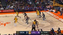 LeBron James Scores First Bucket As A Laker in Debut! Lakers vs Nuggets