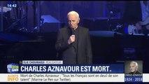 """""""C'est un grand qui s'en va"""", réagit Jean-Claude Camus à la mort de Charles Aznavour"""