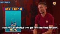 Le Top 4 des idoles de Clément Lenglet !