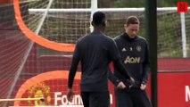 Pogba fait tout pour éviter de saluer Mourinho