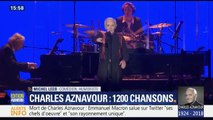 """Michel Leeb raconte sa """"dernière après-midi merveilleuse"""" avec Charles Aznavour la veille de sa mort"""