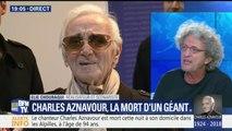 """""""C'était un comabattant"""", témoigne Elie Chouraqui après la mort de Charles Aznavour"""