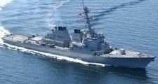 Çin Savaş Gemileri, Güney Çin Denizi'ne Giren ABD Gemisini Engelledi