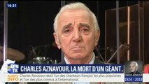 """Charles Aznavour """"avait la précision de la rime, la précision du mot"""", rend hommage Michel Sardou"""