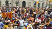 - Barselona'da Katalonya Referandumunun Yıldönümünde Gösteri