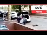 Gang Nick Safe From House in BROAD DAYLIGHT | SWNS TV