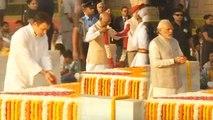 Gandhi Jayanti : PM Modi, Rahul Gandhi, Prez Kovind pays Tribute to Mahatma Gandhi | Oneindia News