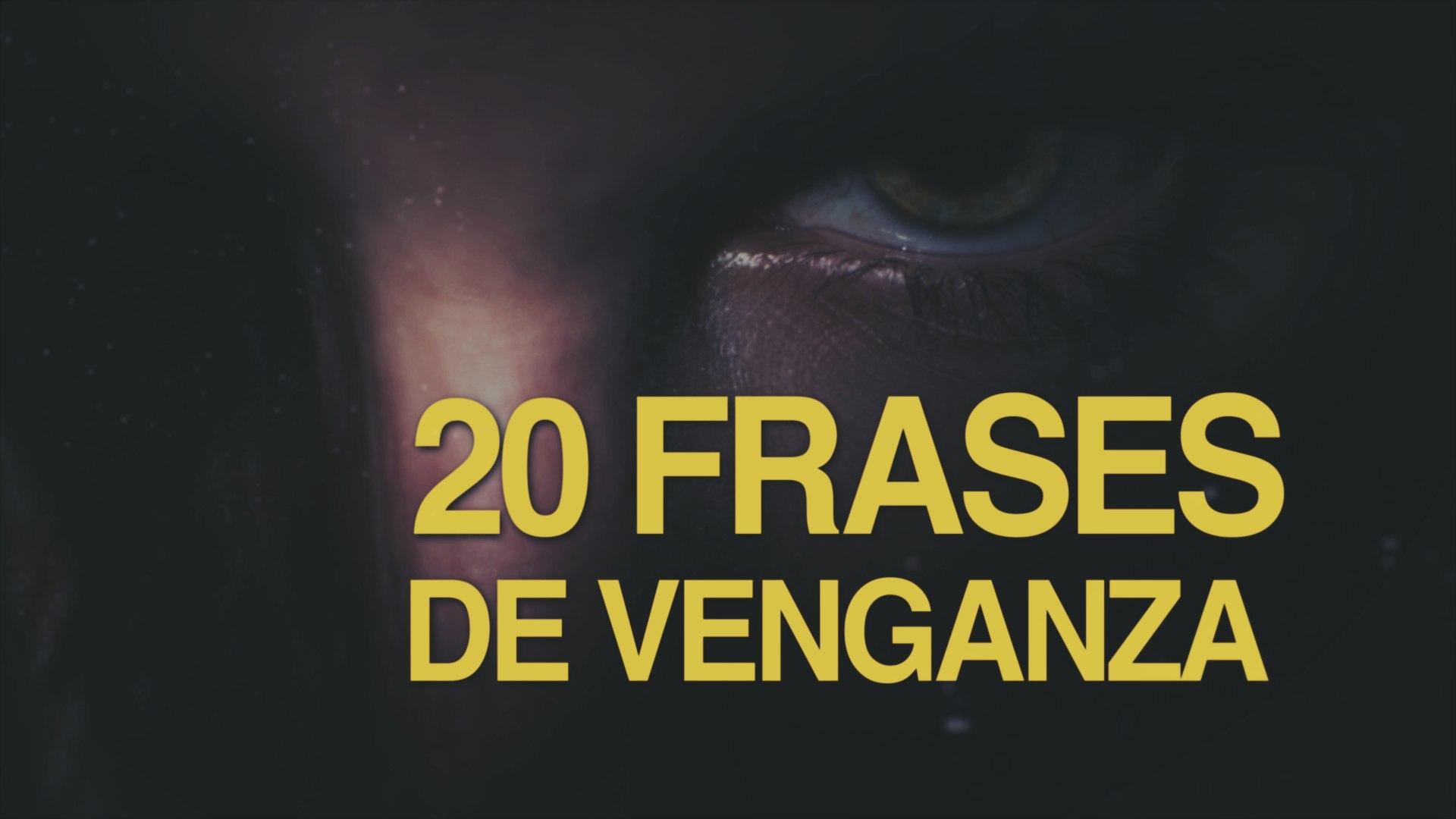 20 Frases De Venganza Un Plato Que Se Sirve Frío