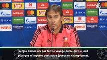 Ligue des Champions - Lopetegui : J'ai décidé de laisser Ramos au repos