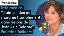 """Faustine Bollaert : """"J'aime l'idée de marcher humblement dans les pas de Jean-Luc Delarue"""""""