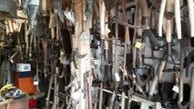 Pont-à-Mousson : Jacky Chery grand amateur d outils anciens