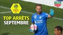 Top arrêts Ligue 1 Conforama - Septembre (saison 2018/2019)