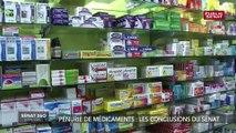 Pénurie de médicaments: les conclusions du Sénat