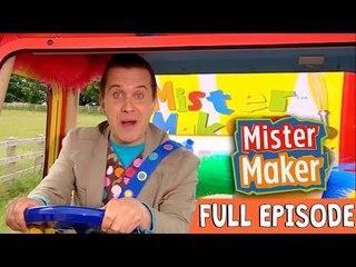 Junk Letter Make | Episode 1 | Full Episode | Mister Maker Comes To Town