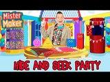 Mister Maker Hide and Seek Arty Party!   Animated Story For Children   Mister Maker