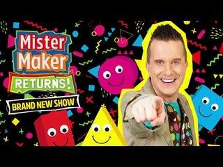 Mister Maker & The Shapes at Butlins 2018