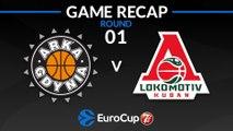 Highlights: Arka Gdynia - Lokomotiv Kuban Krasnodar