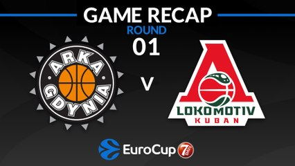 7Days EuroCup Highlights Regular Season, Round 1: Gdynia 73-80 Lokomotiv