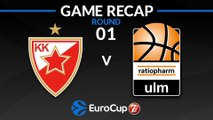 Highlights: Crvena Zvezda mts Belgrade - Ratiopharm Ulm
