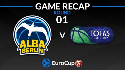7Days EuroCup Highlights Regular Season, Round 1: ALBA 107-91 Tofas