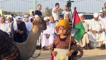 Gazze sınırında Filistin ve Necef Bedevi Kabileleri Festivali - GAZZE