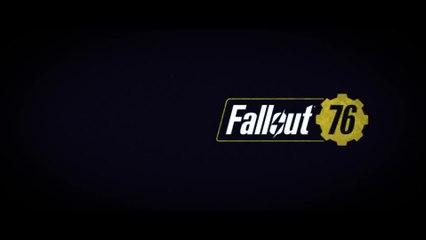 Extrait / Gameplay - Fallout 76 - Cinématique d'intro du jeu, et dates de la bêta fermée
