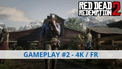Extrait / Gameplay - Red Dead Redemption 2 - Vidéo de Gameplay #2 en 4K et en Français