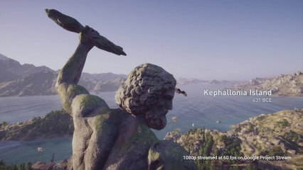 Extrait / Gameplay - Assassin's Creed Odyssey - Extrait de Gameplay sur Google Project Stream